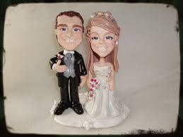 boogiebabys cake toppers personalised caricature wedding cake toppers