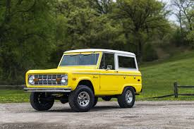 old bronco jeep 1973 ford bronco morrie u0027s heritage car connection mhcc