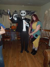 jack skellington and sally costume quirky chrissy