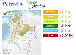 Colombian Map Colombia Siembra The Cairns Group