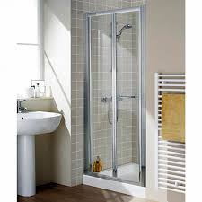 bifold shower door frameless lakes classic semi frameless bi fold shower door uk bathrooms