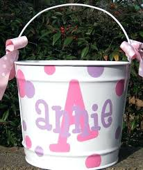 easter buckets personalized easter buckets best personalized basket personalized