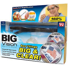 magnifying eyeglasses with light as seen on tv as seen on tv big vision walmart com