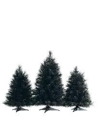 tuxedo black tabletop trees treetopia pre lit