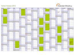 Kalender 2018 Hessen Din A4 Ferien Hessen 2013 Ferienkalender Zum Ausdrucken