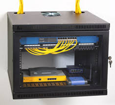 wall mounted enclosures racks and server cabinets