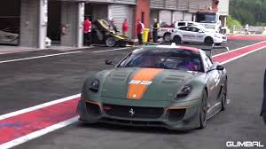 matte green maserati matte green 750hp ferrari 599xx evoluzione brutal sounds youtube