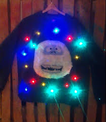 Ugly Christmas Sweater With Lights Mommyish Gift Guide 10 Ugly Christmas Sweaters For Babies And Kids