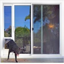 screen door sliding glass the ideal fast fit dog door for sliding glass door is a dog door