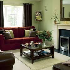 warm green living room colors interior design