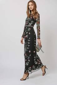 embellished maxi dress for all body types popfashiontrends