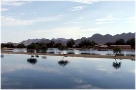 phoenix arizona waterfront homes waterski lake community