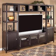 T V Stands With Cabinet Doors Wooden Tv Stands With Glass Doors Euprera2009
