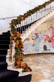 Banister Decorations For Christmas 100 Awesome Christmas Stairs Decoration Ideas Digsdigs