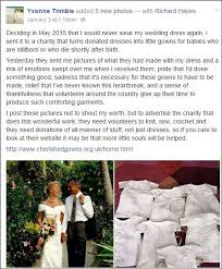 wedding dress donations who donated wedding dress to be turned into burial