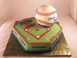 southern blue celebrations baseball cake ideas