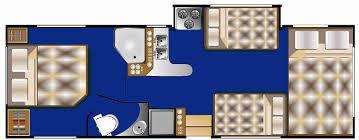 Class C Floor Plans by Adventure Touring Rv Rentals Rv Motorhome U0026 Camper Van Hire