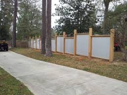 Circle F Construction Cypress Tin Fence