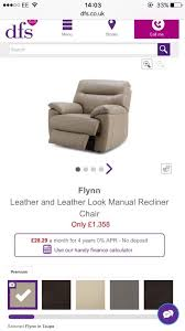 Dfs Leather Recliner Sofas Dfs Leather Recliner Sofa In Kings Lynn Norfolk Gumtree
