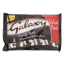 buy mars galaxy smooth dark chocolate 40 gm x 5s online in uae