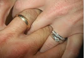 wedding rings together being the other woman wedding rings together