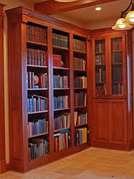 Library Office by Affordable Custom Cabinets Showroom