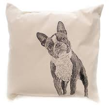 Home Decor Boston Home Decor Boston Terrier Pillow Accent Pillow Sbkgifts Com