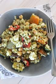 Roasted Vegetables Recipe by Warm Barley And Chickpea Salad With Roasted Vegetables Recipe