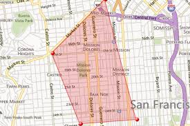 San Francisco Neighborhood Map by Realtor Rebrands Four Neighborhoods In One Fell Quadrangle Curbed Sf