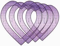 amazon com fiskars shape template set super sized hearts