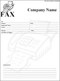 fax coversheet template botbuzz co