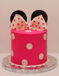 simple minnie mouse smash cake for first birthday make using cake in a can idea and use oreos or thin mints for the ears