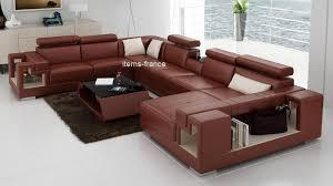 canapé panoramique canapé panoramique cuir rome canapé d angle en cuir 7 personnes