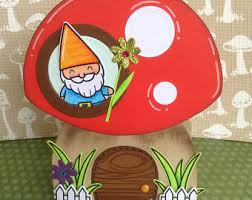 gnome cards etsy