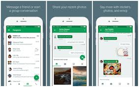 hangouts app android hangouts 4 0 for ios brings new ui lets you send photos