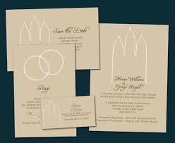 lds wedding invitations i am an artist lds wedding invitations