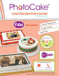 photocake update 33 decorator u0027s guide by decopac issuu