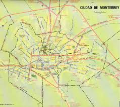 San Felipe Mexico Map by Monterrey Map