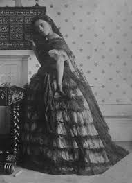 1862 lady isabella grace in fancy dress spanish style or