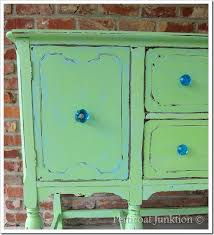 painted sideboard makes a splash petticoat junktion
