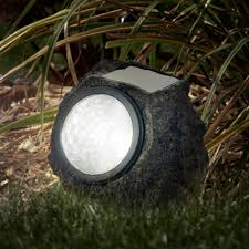 Outdoor Solar Landscape Lights Garden Solar Led Lights Black Set Of 4 Walmart