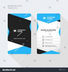 two sided business card template word 100 images sided