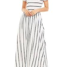 best black and white striped maxi dress products on wanelo