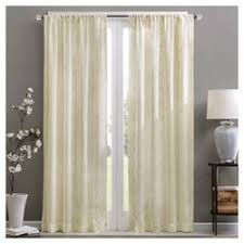 Embroidered Curtain Panels Clarissa Diamond Sheer Curtain Panel Ivory 50