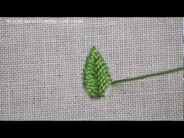 Fish Bone Stitch Embroidery Tutorials Fishbone Stitch Tutorials Stitch Embroidery And