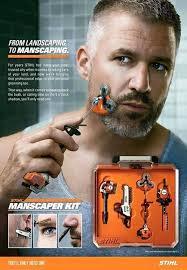 Manly Memes - the manscaper kit is for manly men who do manly things in a manly