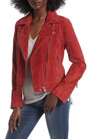 red leather motorcycle jacket women u0027s leather u0026 faux coats nordstrom