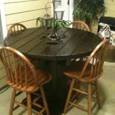 outdoor tables made out of wooden wire spools wire spool table wire spool tables wire spool and smooth
