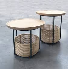 basket tables design alain gilles for vincent sheppard side