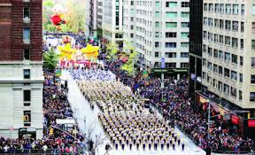 a 90 year parade that reflects the changing of new york